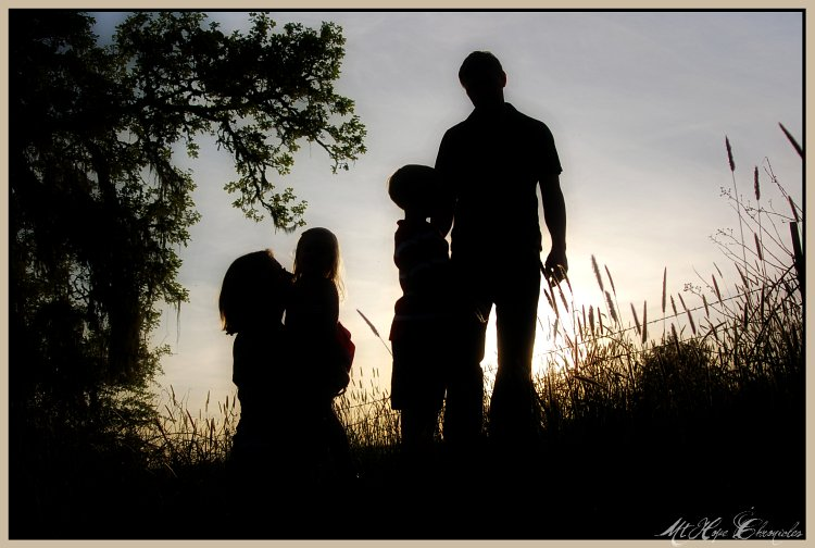 Family Silhouette 1