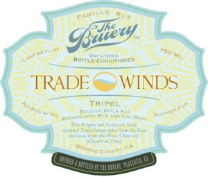 The Bruery Tradewinds Tripel