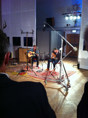 guitar guys at Abbey Road