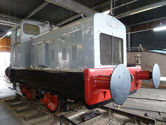 Ruston & Hornsby 88DS Diesel Shunter Museum of Lincolnshire  Life Lincoln (woodytyke) Tags: ruston hornsby 88ds diesel shunter museum lincolnshire life lincoln photo photography old woodytyke history historic county hunter shunting locomotive goods wagon smith clayton forge chain driven railway engine buffer red track rail sleeper iron wheel industry cab steel england english britain british uk united kingdom isles count 2011lincolnmillwall15may stephen woodcock photograph camera foto best picture composition digital phone colour flickr image photographer light publish print buy free licence book magazine website blog instagram facebook commercial