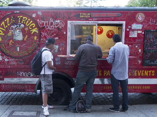 Pizza Truck, Union Sq.
