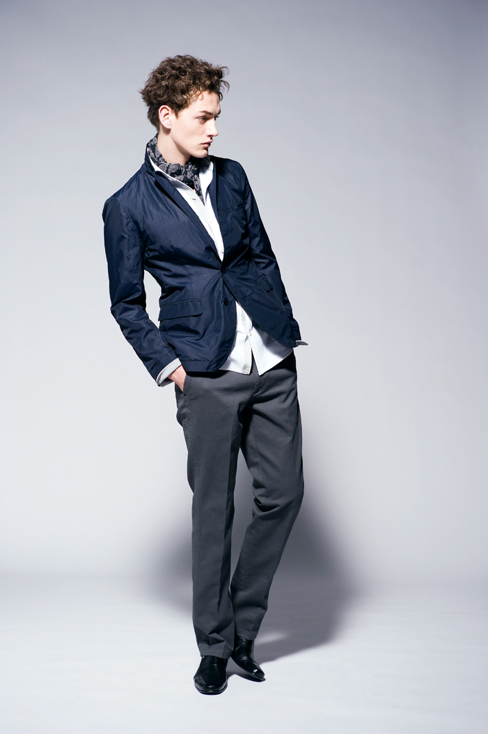 Jakob Hybholt0199_JOSEPH HOMME CASUAL 2011 Spring-Summer Collection(Official)