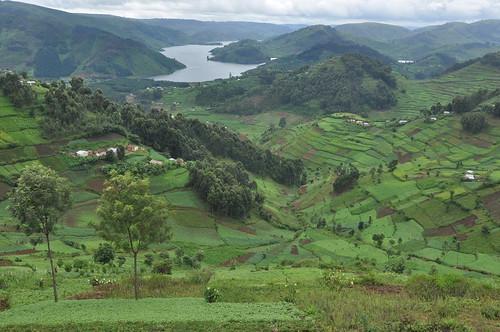 Lake Bunyoni, western Uganda