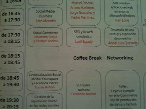 Zaragoza   Congreso Web   Programa