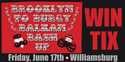 Brooklyn to Burgy Balkan Bash Up