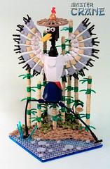 Master Crane (Fianat) Tags: brick bird film movie panda lego crane master fantasy kung fu poo moc