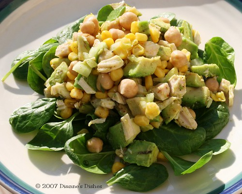 Turkey Avocado Salad