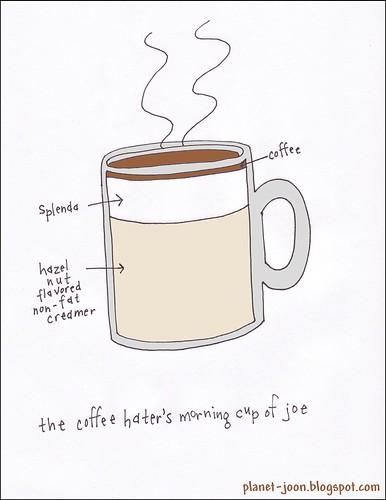 ew, coffee