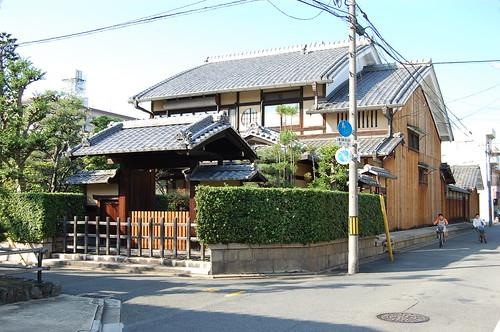 Une maison à Saiin, Kyoto