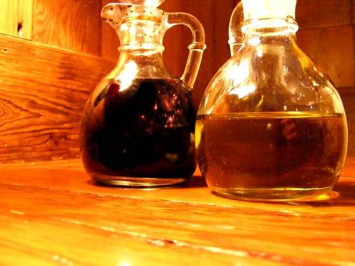 Like Oil and Vinegar...literally