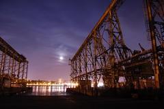 Moon over Vallejo (Tyler Westcott) Tags: california longexposure night navy fullmoon explore vallejo mareisland navalshipyard thenocturnes sfchronicle96hrs nikond40 nocturnes071027