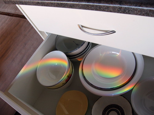 rainbow in the bowl drawer