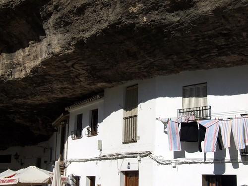 Casas-cueva enSetenil de las Bodegas