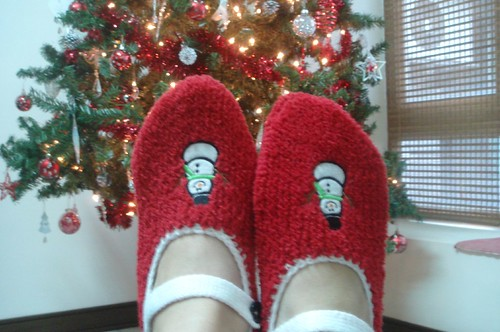 Christmas slippers from NeeNee