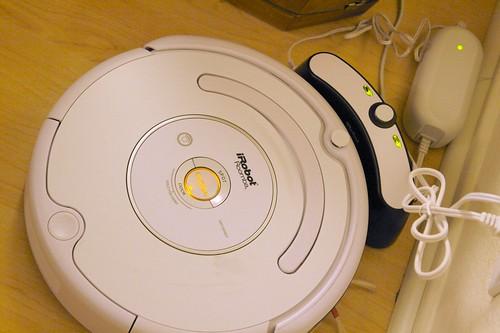 Roomba Charging Itself
