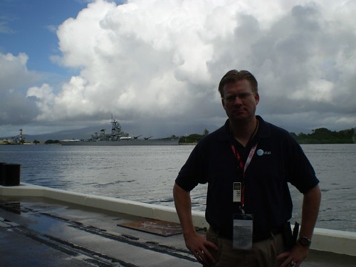 At Pearl Harbor, December 7, 2007