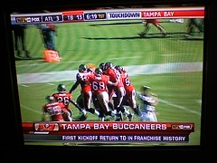 The first Bucs kickoff return in history