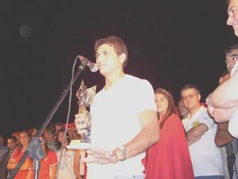 Matías Bendazzi y su palabra luego de ganar el Hernando Pujío 2007