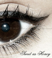 -=[    ..     ]=- (` .) Tags: brown eye photography bahrain nikon sweet honey 5star eyeliner blach coolpixp5000 sweeto0o k7l