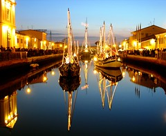 It's just me: LightMirror ( LightMirror) Tags: christmas city sunset sea urban italy night boats lights italia mare barche explore porto luci nativity nocturne breathtaking presepe cesenatico blueribbonwinner lightmirror golddragon abigfave anawesomeshot diamondclassphotographer flickrdiamond alemdagqualityonlyclub