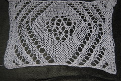 Secret of the Stole II - Swatch (cathleneb) Tags: lace shawl kal stole