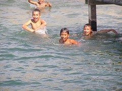 The Beach Boys (BEST PHOTO) Tags: sea lake apple water yahoo screenshot flickr googlemaps map earth satellite maps di googleearth pantai anak toba danau berenang bestphoto