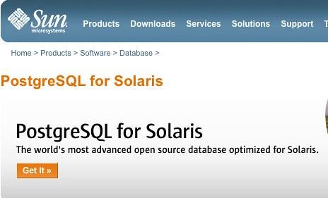 PostgreSQL for Solaris