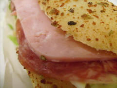 Last dinner (.lucy) Tags: bread ham sandwich po salame sanduiche presunto internationalfood