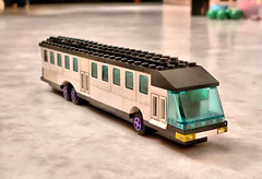 Lego Travel Coach MOC ( - s  ) Tags: bus coach model lego bricks creation instruction moc touringcar afol handleiding bouwvoorbeeld