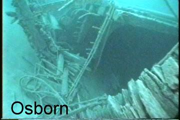 osborn under water