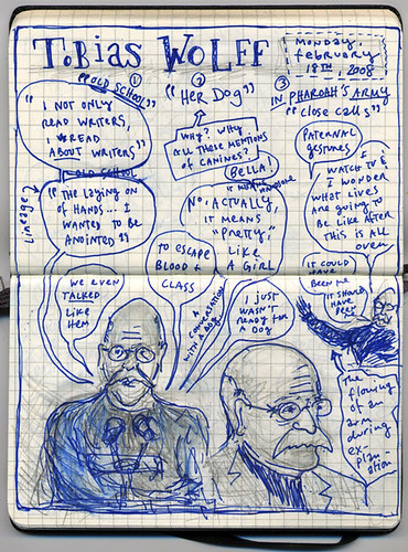 NOTES ON A TOBIAS WOLFF FICTION READING