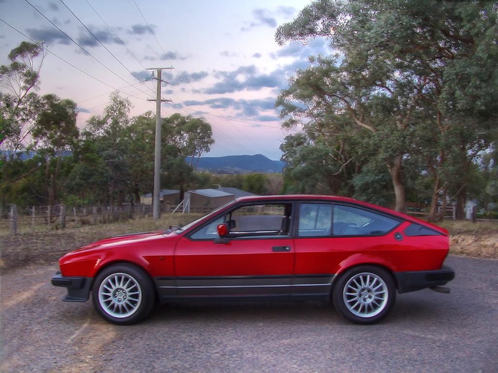 Alfa Romeo GTV6 Alfetta