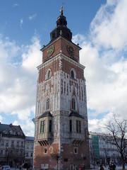 Krakw  Rathausturm (ipernity.com/doc/d-f [hat Suckr verlassen]) Tags: poland polska galicia polen architektur rathaus turm krakw krakau    ratusz galicja galizien wiea  wiearatuszowa