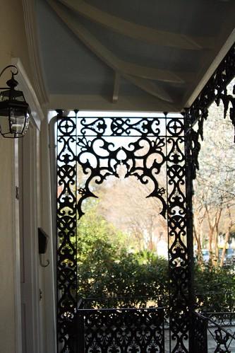 cast iron porch trim