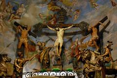 Il Golgota (franz75) Tags: italy statue d50 nikon italia basilica piemonte maddalena cristo statua piedmont legno 1700 novi passione ligure noviligure