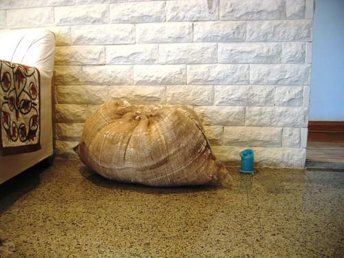 sack of cotton