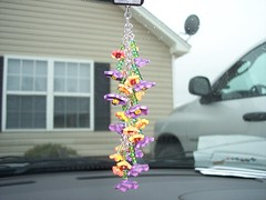 "Car Jewelry ""Hanging Garden"" (clayangel_sc) Tags: art beauty fashion one necklace beads artist handmade originalart ooak polymerclay fimo clay gift sculpey handcrafted wearableart accessories bracelets earrings etsy acessories brooches necklaces polymer artjewelry hypoallergenic adornments artisanjewelry canework handmadebeads artbeads handcraftedbeads pcagoe notpainted polymerclayjewelry oneofakindjewelry fauxjewelry southcarolinaartist jewelryartisan boldjewelry clayangel oneofakindpiece clayangelsc nopaintisinvolved finising"