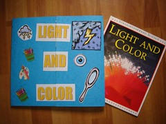 light and color lapbook and main book