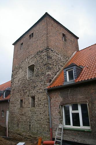 Der Wohnturm des Steinhofs