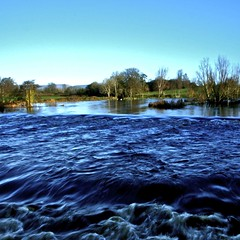 river of contrast (limerickdoyle) Tags: blue ireland river shannon limerick castleconnell efs1785mm canon400d