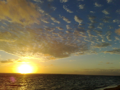 Sunrise, East Oahu Shore