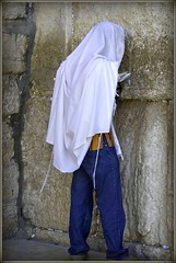 Praying at the Western Wall (Greatest Paka Photography) Tags: israel worship jerusalem prayer religion jewish judaism oldcity tzitzit westernwall phylacteries maariv tallit shacharit mincha hakotelhamaaravi