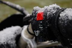 snowy killswitch (jeffconlin) Tags: snow bmw motorcycle g650 xchallenge