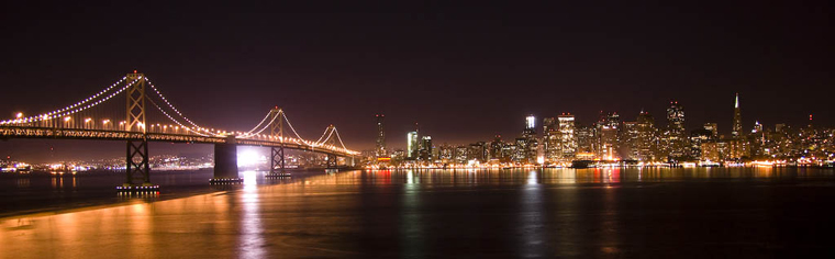 Panaromic Skyline of San Francisco
