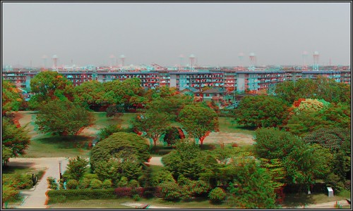 3D-anaglyph-Hyogo Prefectual Museum of Archaeology-CIMG3892