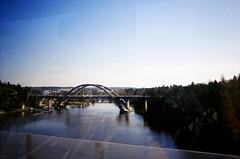 the outskirts of Stockholm (oli.culcheth) Tags: bridge river sweden stockholm