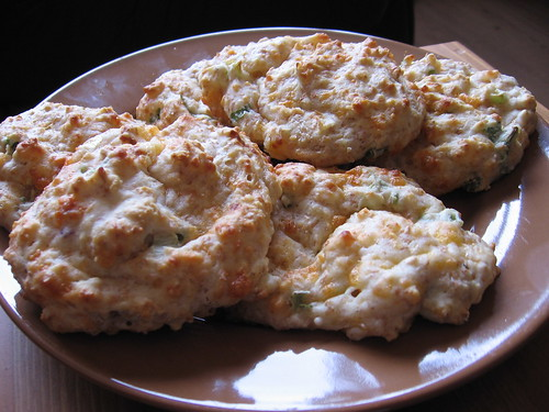 Cheddar, Green Onion, & Sour Cream Biscuits