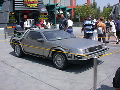 Back to the Future-The Ride