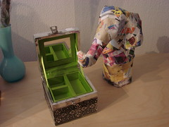 Jewelry Box and Paper Maché