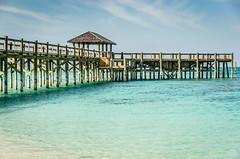 Bahamas-073.jpg (ajdoudt) Tags: patrick sun blue ocean beautiful bahamas pier roper sunny green wedding vacation shannon tropical shanny